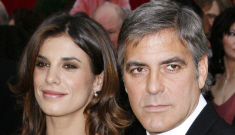 Did George Clooney dump Elisabetta just because she mentioned marriage?