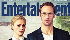 Entertainment Weekly's new True Blood covers featuring Sookie and her men