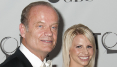 "Kelsey Grammer & Kayte are already fighting, he ""scolds her like a father"""