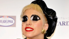 Lady Gaga does anime-eyes in Japan, for charity: busted or awesome?