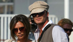 The Beckhams promote their fragrance in Venice