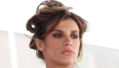 "Elisabetta Canalis is ""down in the dumps"" post-Clooney, says her mom"