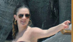 Drew Barrymore loves her curves