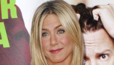 Jennifer Aniston in a Balenciaga LBD: cute or boring?