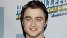 Daniel Radcliffe hasn't had a drop of booze since August 2010