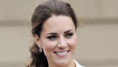 Duchess Kate in Sarah Burton for McQueen: budget Ralph Lauren?