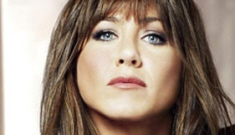 "Jennifer Aniston talks about her ""risky"" choice: wearing a brunette wig"