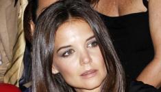 Katie Holmes's good hair & Parisian styles: lovely or tacky?
