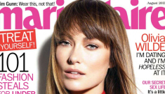 """Olivia Wilde covers Marie Claire: """"I'm human, I don't live up to any sort of ideal"""""""