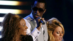Diddy getting busy with Aubrey from Danity Kane