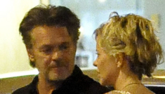 Crusty lovers Meg Ryan & John Mellencamp are kind of sweet together in Rome