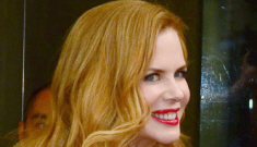 Nicole Kidman in red Elie Saab, for Wendi Murdoch: gorgeous or too matchy?
