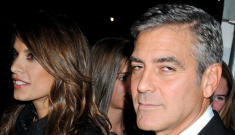 George Clooney never wants to let a woman get her hands on his ass(ets)