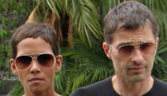 Halle Berry trots out her hostage, Olivier Martinez, so they're not done… yet