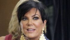 """Kris Jenner debuts her freshly """"lifted"""" cat-face, looks more """"surprised"""" than ever"""