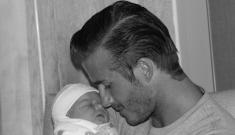 David & Victoria Beckham debut baby Harper Seven