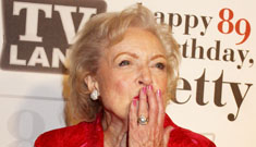 Betty White isn't going to the ball with a Marine