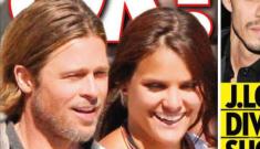 Angelina Jolie threw a fit when Brad Pitt befriended an attractive brunette