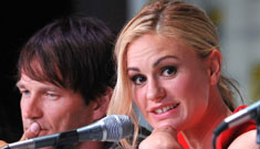 Anna Paquin in a tight short red dress at Comic-Con: cute or put it away?