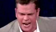 Video of Matt Damon telling Jimmy Kimmel to f-off (update: poll)