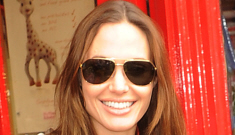 Angelina Jolie takes Shiloh & the Empress to toy shop, causes a commotion