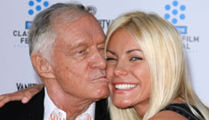 Crystal Harris on sex with Hugh Hefner: they did it once and it lasted two seconds