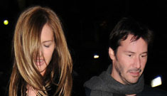 Keanu Reeves seen out on a double date with 'What Not To Wear' star