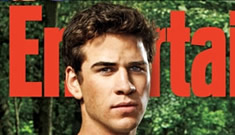 The 'Hunger Games' guys cover Entertainment Weekly: airbrushed to the max?