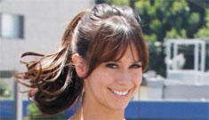Jennifer Love Hewitt goes shopping in a little black dress: adorable or too short?
