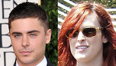 Rumer Willis and Zac Efron are heating up, he's even met the parents