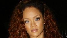 Rihanna finally gives up the Kool-Aid hair, disrespects Britney & Adele?