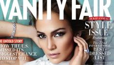"Jennifer Lopez in Vanity Fair: ""I love myself enough to walk away"""