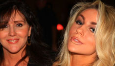 16 year-old bride Courtney Stodden's mom admires Dina Lohan, Kris Jenner