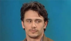 James Franco admits he was addicted, getting into trouble on Twitter