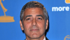 """Stacy Keibler & George Clooney are """"more than a   fling"""" but """"not monogamous"""""""