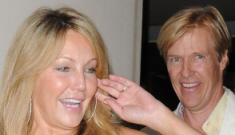 Heather Locklear might have   a boob job, might be engaged to Jack Wagner