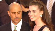 Stanley Tucci is a creep