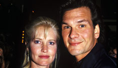 Patrick Swayze's widow upset no one told her about the   Dirty Dancing remake