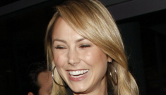 Enquirer: Stacy Keibler is only bangin' George Clooney to   get to Brad Pitt