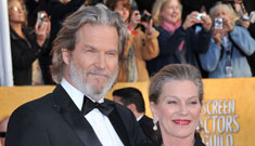 "Jeff Bridges' advice for a long marriage: ""Lots and lots of good love making."""