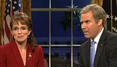 Will Ferrell and Tina Fey meet again on primetime SNL as Bush and Palin