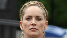 If Sharon Stone is getting tweaked, should we applaud her restraint?