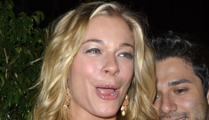 LeAnn Rimes in Chloe & YSL for her 29th b-day dinner: pretty or fug?