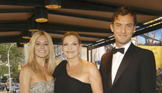 Jude Law and Sienna Miller make rare public appearance together