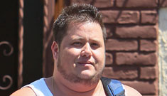 Pregnant man Thomas Beatie is mad at Chaz Bono for taking his spot on DWTS