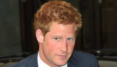 Prince Harry gets back to business after his liquor-soaked Croatia trip