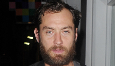 """Jude Law is impregnating you with his mind"" links"