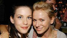 Liv Tyler and friends at the Metropolitan Opera opening
