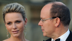 """Princess Charlene & Prince Albert have a """"show of unity""""   in England"""