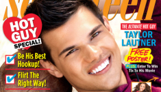 "Taylor Lautner's five-year plan: ""Winning an Oscar is   the ultimate dream"""